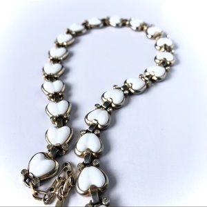 Vintage | Poured Milk-glass Necklace